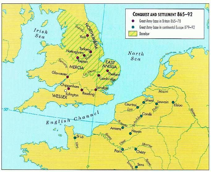Conquest and Settlement 865-892