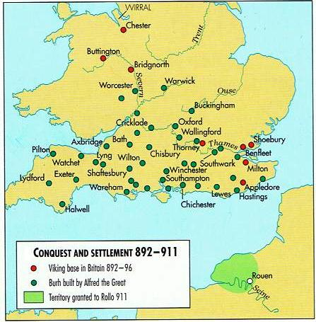 Conquest and Sttlements 892-911