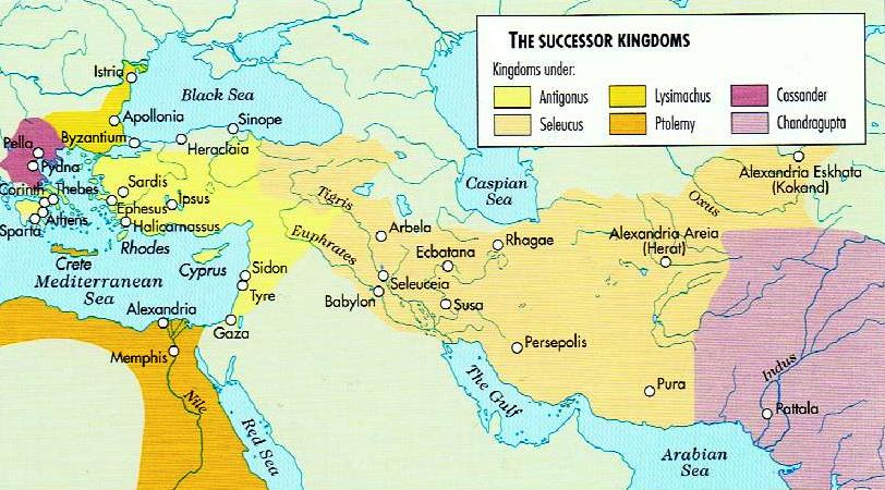 The Successor Kingdoms