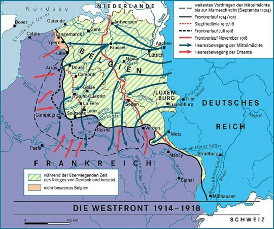 westfront 1914 1918