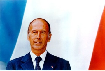 president giscard destaing