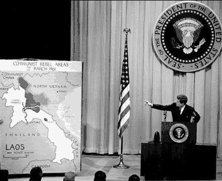 jfk briefing vietnam war