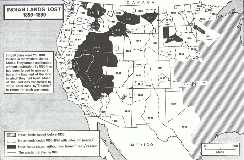 indian land lost 1850-1890